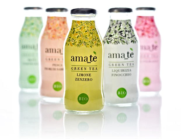 Infusi biologici al tè verde, AMATE'