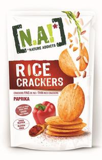 Rice Cracker alla Paprika - Gluten Free, Al forno