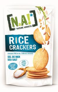 Rice Cracker al Sale Marino - Gluten Free, Al forno