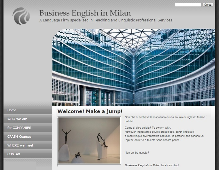 Business English in Milan