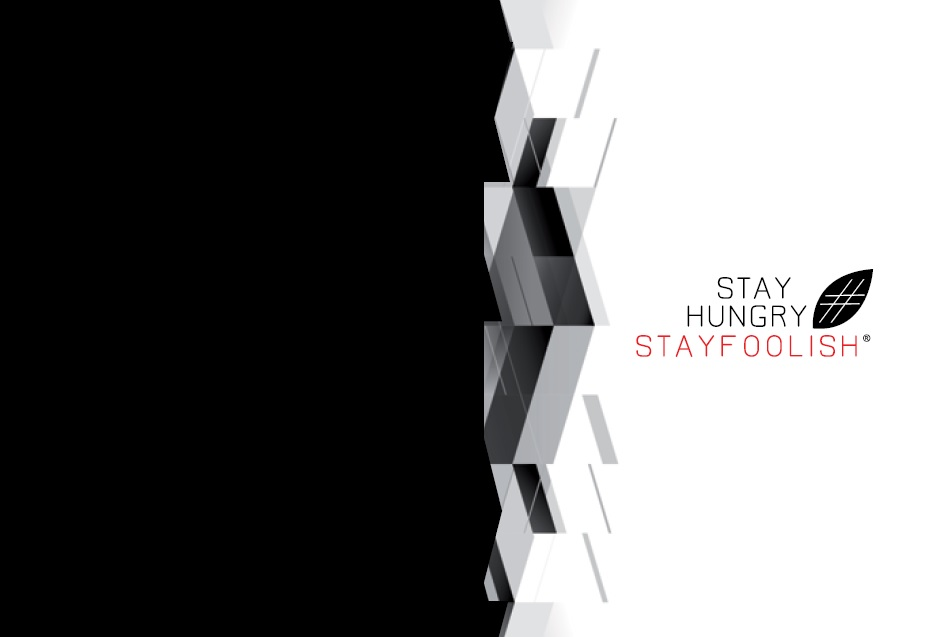 Stay Hungry Stay Foolish Brand Book