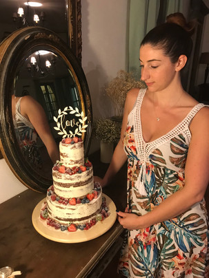 Naked cake fruité