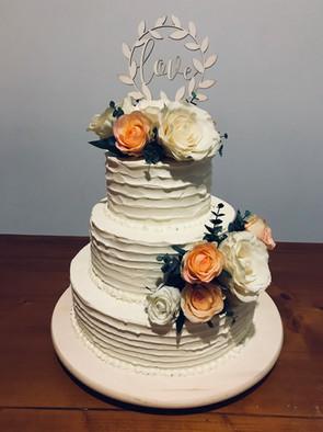 Nude cake brossé