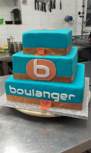 Gâteau d'entreprise