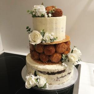 Naked cake - Choux