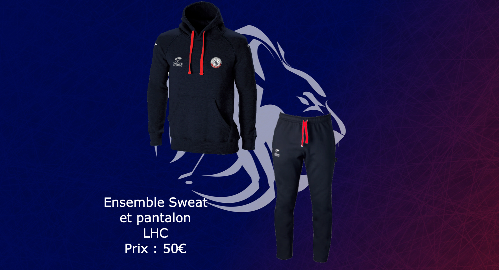 Ensemble Sweat et pantalon LHC