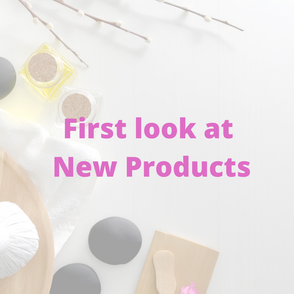 First look at New Products