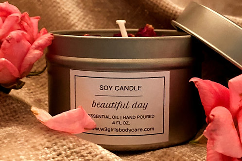 Hand Pour Soy Candle