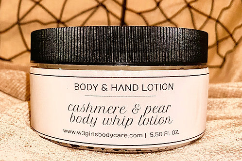 Cashmere & Pear Body Whip Lotion