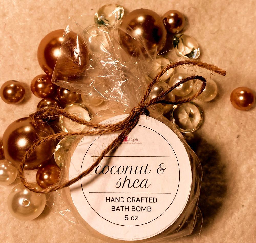 Coconut & Shea Bath Bomb