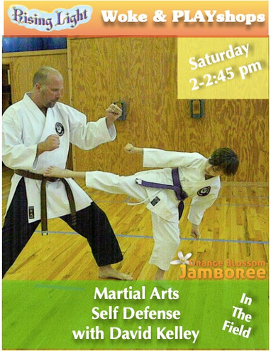 Bring a pod buddy and practice martial arts self-defense instructed by David. This practice boosts confidence and self-trust while improving the health and vigor of your body.