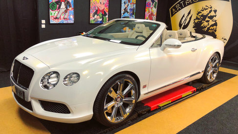 Bentley Continental GT White Pearl