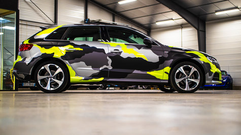 Audi A3 camouflage