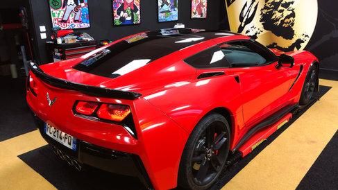 Corvette C7 Metallic Red