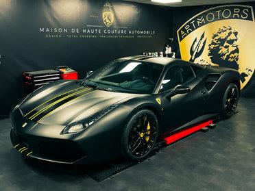 Ferrari 488 Noir mat