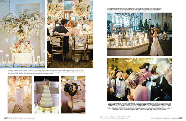 emily sullivan events was featured in southern weddings magazine she is based in new orleans louisiana as a destination wedding planner