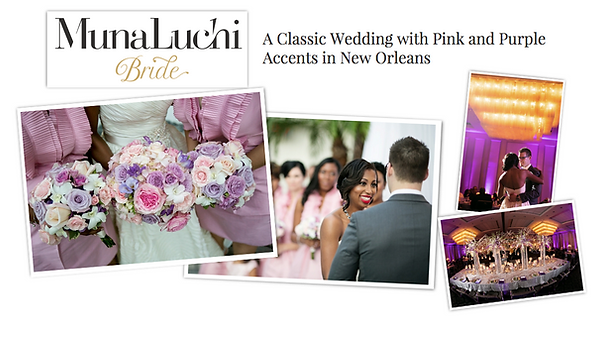 emily sullivan events is a destination wedding planner based in new orleans louisiana and she was featured in munaluchi bride magazine