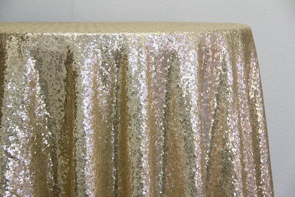 Light Gold Sequin (Multiple Sizes)