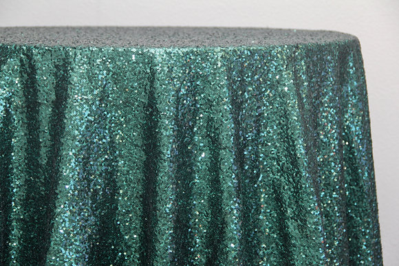 Emerald Green Sequin (Multiple Sizes)