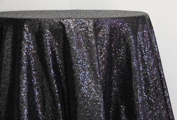Black Sequin (Multiple Sizes)