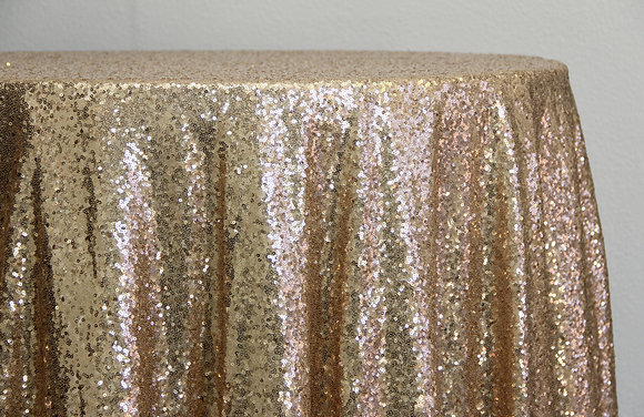 Champagne Sequin (Multiple Sizes)