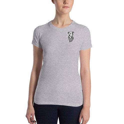 RuffRiders Women's Slim Graphic T-Shirt (Gray)