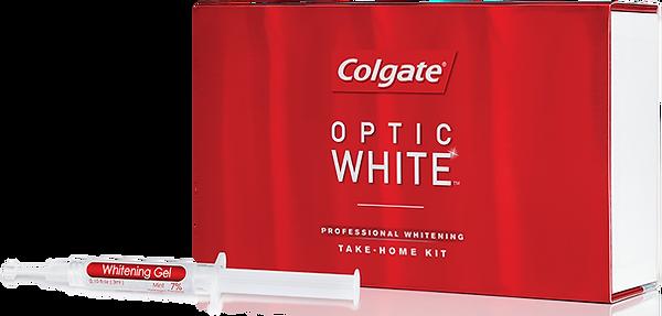 Colgate Optic White professional whitening take-home kit