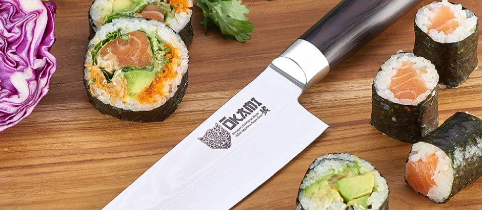 Japanese Knives Reviews: Okami Gyuto 8 Inch Chef Knife