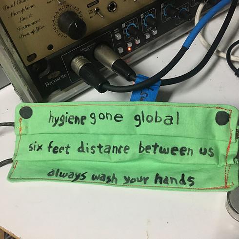 Social Distance, Haiku, and You: Sound Collage Public Collaboration with Alan Nakagawa