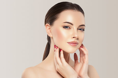 Beauty woman healthy skin concept natura