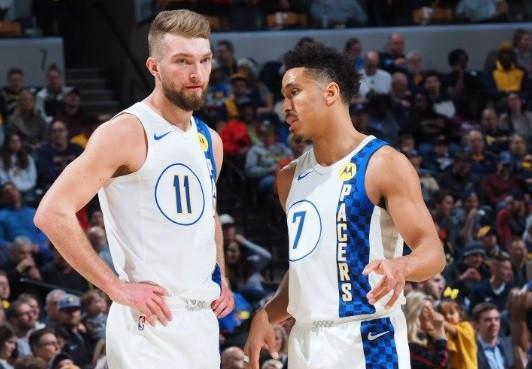 """Domantas_Sabonis_Malcolm_Brogdon_NBA_Around_the_Game"""""""