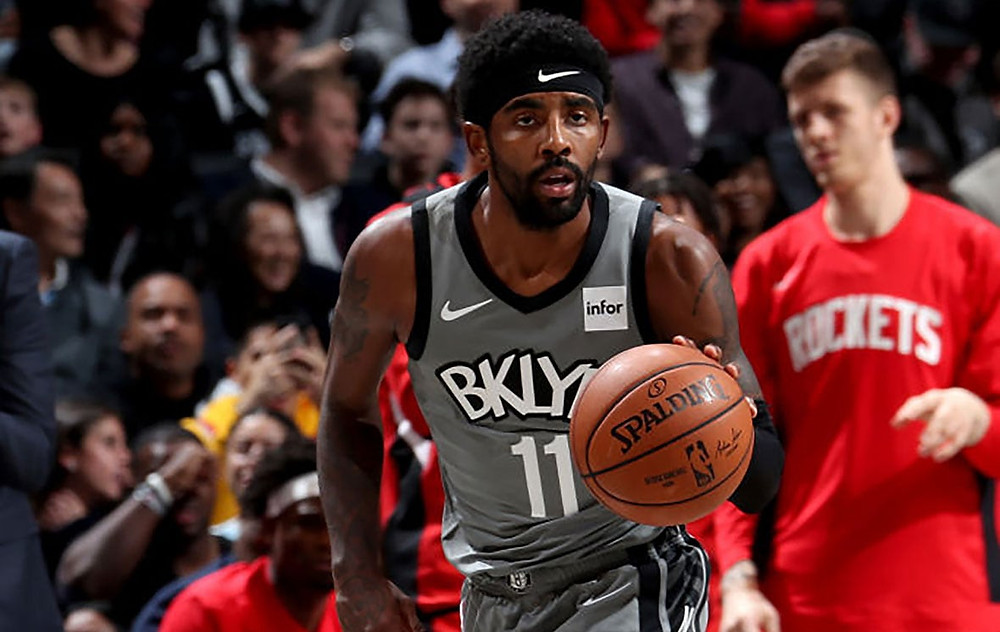 Kyrie Irving Brooklyn Nets NBA Around the Game