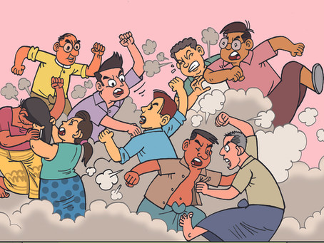 Brigas na Família