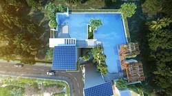 Terrace Top view