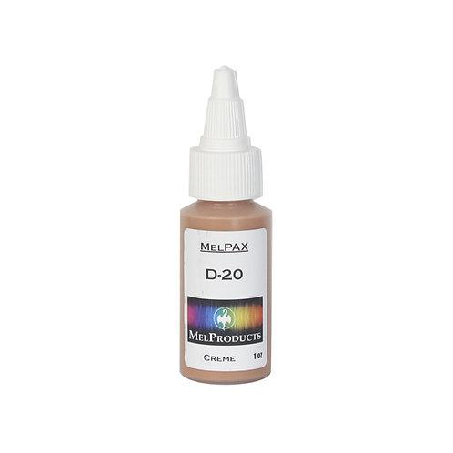D-20 MelPAX Makeup (Discontinued)