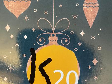 La vente de Noël au profit de l'association K20 passe en mode digital!