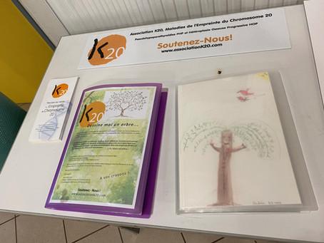 """EXPO DESSINS POUR K20 """"Dessine-moi un arbre"""""""