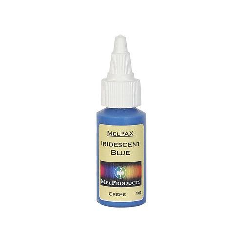 Iridescent Blue Metallic MelPAX Makeup