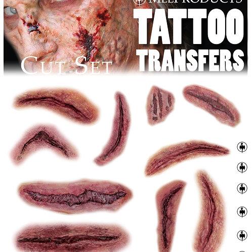 Tattoo Transfers - Cut Set