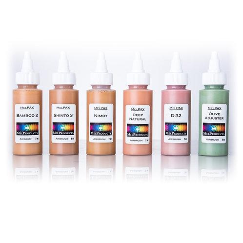 Medium Skin Tone MelPAX AirbrushKit