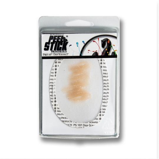 "Peel&Stick Prosthetics: 107 - Deep Scratches 2"""