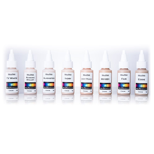 Extra Light Skin Tones MelPAX Kit #11