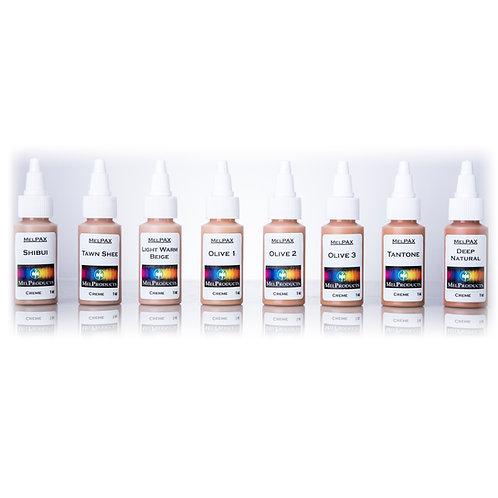 Light Medium Skin Tones MelPAX Kit #4