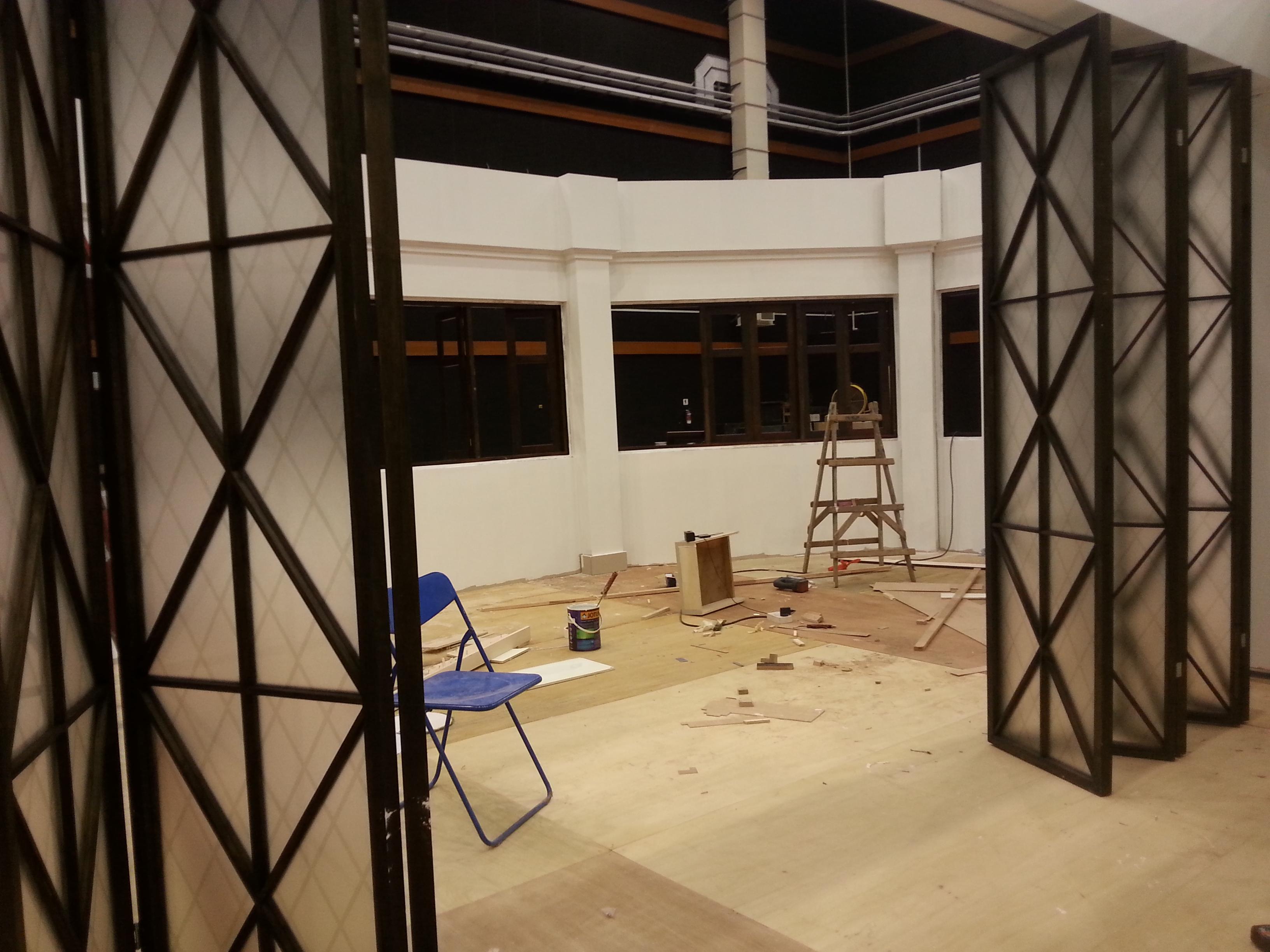 Main Suite under Construction