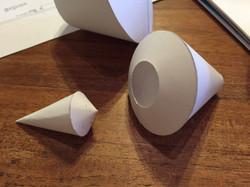White Model Parts
