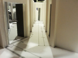 White Model of Corridor