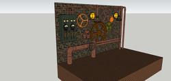 Steampunk Stage Design A