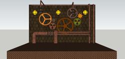 Steampunk Stage Design B