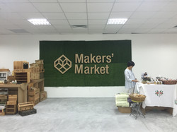 Makers' Market Feature Wall