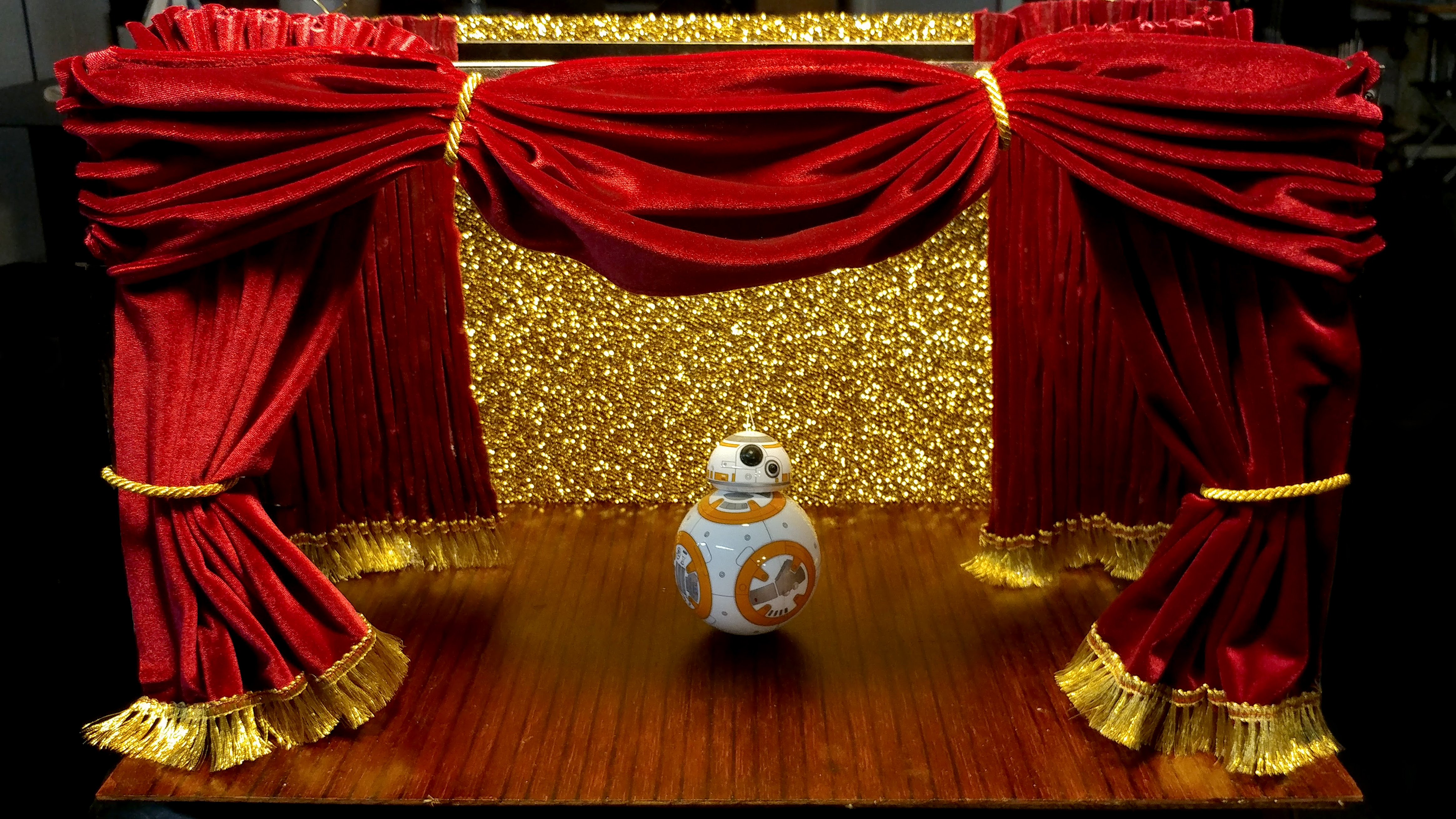 BB-8 Takes the Stage